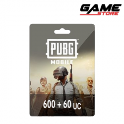 PUBG Card - 600 + 60 UC