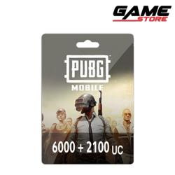 PUBG Card - 6000 + 2100 UC