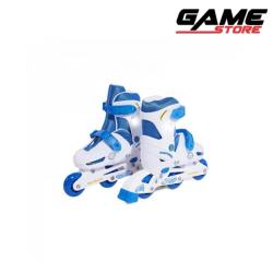 3 wheels ski shoes - kids games