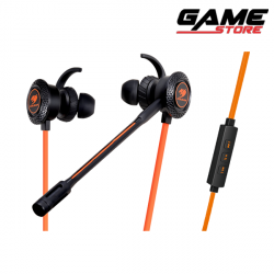 Cougar Megara In-Ear Headphone - Black Orange