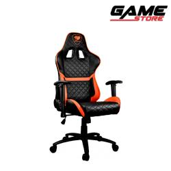 Cougar Armor One Gaming Chair - Black + Orange