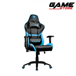 Cougar Armor One Gaming Chair - Black + Sky Blue