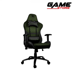 Cougar Armor One X Gaming Chair - Black + Oil Green