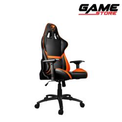 Cougar Armor Gaming Chair - Black + Orange