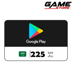 Google Play Saudi - 225 riyals