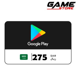 Google Play Saudi - 275 riyals