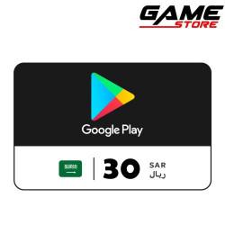 Google Play Saudi - 30 riyals