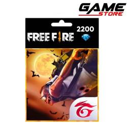 Free Fire - 2200 Gems