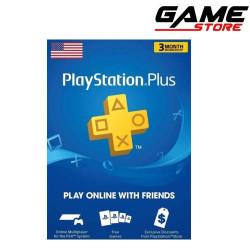 PlayStation Plus Three Months Membership - US