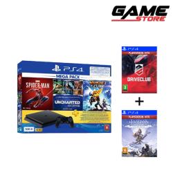 PlayStation 4 - 500 GB + 5 Games
