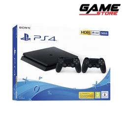 PlayStation 4 Slim - 500 GB + 2 controllers