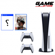 PlayStation 5 + two games + hands