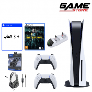 PlayStation 5 + return + 3 games + headset + extra hand + charger dock - PlayStation 5